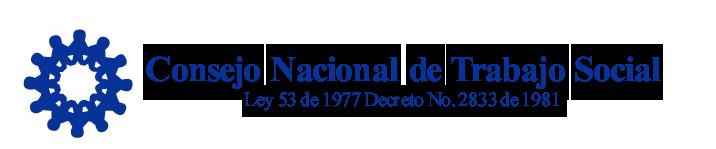 Consejo Nacional de Trabajo Social Logo