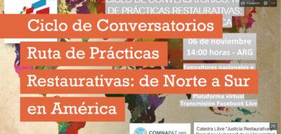 imagen-ciclo-conferencias-Ruta-de-practicas-restaurativas-Norte-a-Sur-en-America